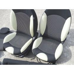 Intérieur semi  cuir Mini R56