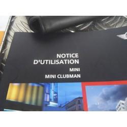 Notice d'utilisation Mini R56