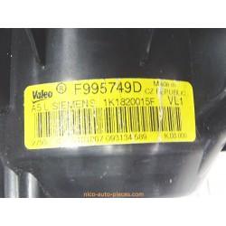 Alternateur Twingo I phase 3, 1.2l essence, réf: 8200065730
