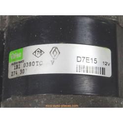 Alternateur Mégane II phase 2, 1.5l dci, 85 chs, réf: TG11C069